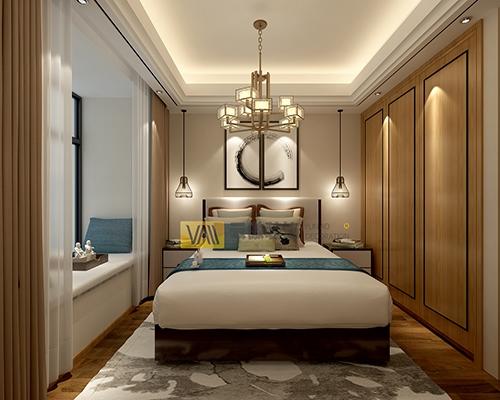 新中式小区房装修